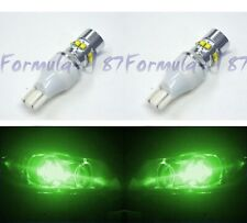 LED Light 50W 921 Green Two Bulbs Back Up Reverse Replacement Lamp OE Show Use