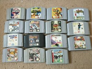 Over 15x Nintendo 64 Games, From £3.45 Each With Free Postage, Trusted Ebay Shop