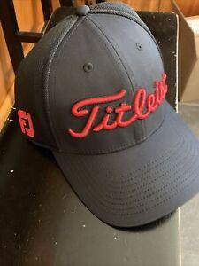 NEW TITLEIST Pro V1  MENS GOLF HAT BLACK Small/Medium