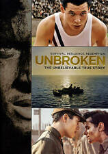 Unbroken: The Unbelievable True Story  (DVD, 2015) with slip cover