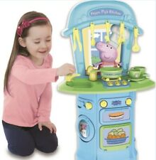 Peppa Pig MY FIRST Kitchen With Sound And Accessories Great Xmas Gift