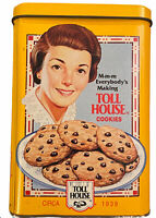 Vintage Nestle Toll House Cookie Advertising Collectible Tin CL36-10