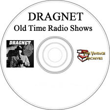 Dragnet - MP3 OTR - Old Time Radio Show - 95 Episodes