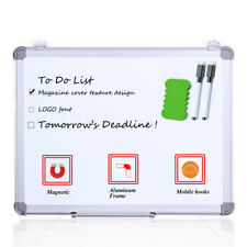 VIZ-PRO Small Dry Erase Board Whiteboard 18 x 12 Inches Home school Kids Writing