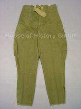 Heer Afrikakorps Breecheshose, Reithose, um 1941, grüner Leinen, Hersteller, 321