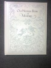 Unused Vintage 1977 American Greetings Our Wedding Keepsake Album Memory Book
