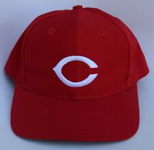 CINCINNATI REDS MLB Baseball Cap Hat One Size Snapback Red Structured by TWINS