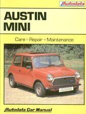 Mini MK1 MK2 850 1000 Clubman 1275GT Ciudad Mayfair 1962-1992 propietarios Manual De Reparación