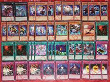YUGIOH Ghostrick Deck 42 Cards Subterror *Alucard*