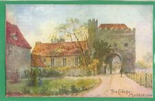 MAIDSTONE, THE COLLEGE * SIGNED BANESS * VINTAGE GARDEN OF ENGLAND  * E.164