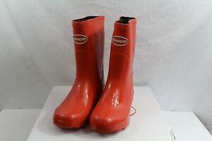 Havaianas Helios Mid Gloss Rain Boots Waterproof Womens Sz 5.5 W NEW NIB Red