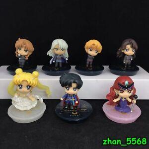Petit Chara Pretty Guardian Sailor Moon 25th Anniversary Dark Kingdom Figure Set