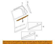 GM OEM Rear-Window Sweep Belt Felt Molding Right 23426776