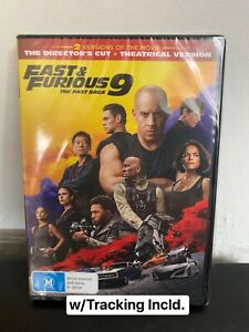Fast And Furious 9 New Sealed In Plastic FREE POSTAGE w/Tracking Incld.