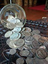 90% Junk Silver US Coins lot of 1/2 oz. Pre-1965 Survivor Silver - $0.60 FV
