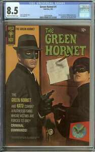 GREEN HORNET #1 CGC 8.5 CR/OW PAGES