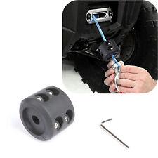 Atv Utv Winch Stopper Rubber Heavy Duty Cable Line Saver Waterproof Rope Hook