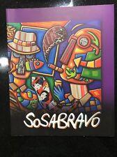Cuban Artist ALFREDO SOSABRAVO ART CATALOG 2012 Great Condition!