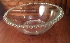Imperial glass candlewick  Serving Bowl