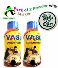 Carrom Powder 100Gm with Carrom Striker US
