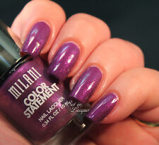 NEW! Milani Color Statement Nail Polish in ULTRA Violet ~ Deep VIOLET Purple