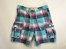 Men's Hollister Board Shorts  - Small W30  - Check - Great Condition