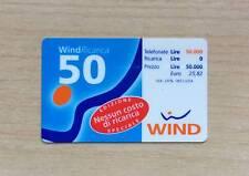RICARICA TELEFONICA WIND - WIND RICARICA 50 - NESSUN COSTO DI RICARICA - 50 EURO