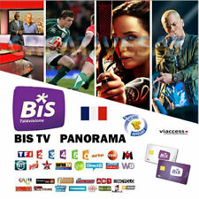 BIS TV Panorama 12 Months Viewing Card  – Watch French TV Now!!!