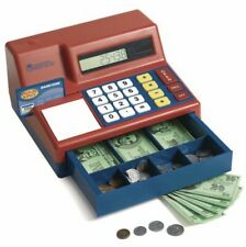 Pretend & Play Kid's Calculator Cash Register, Great Time For Kid