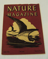NATURE MAGAZINE January, 1948 Vol. 41, No. 4 Vintage Collectables