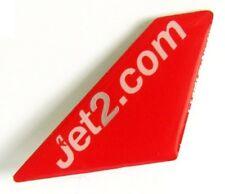 13184 JET2.COM JET 2 BRITISH AIRLINE AIRWAYS AVIATION PLANE TAIL PIN BADGE
