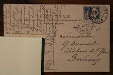 CPA 1920 Baie d'Along Indochine Cover Indo China France Colonie Viet Nam