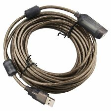 33FT 33'  10M Premium USB 2.0 Type A Male to Female F/M Extension Shielded Cable