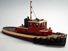 45' HARBOR TUG BOAT HO Waterline Hull Model Railroad Ship Boat Resin Kit FR131