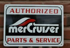 Mercury MerCruiser Service Marina Sign boat inboard Mechanic Outdrive Logo
