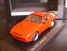 PORSCHE 924 GT CARRERA INDISCHROT 1981 MINICHAMPS 400066120 1/43 RED ROT ROSSO