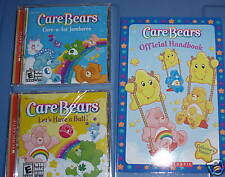 Scholastic Care Bears Fun Pack Childrens Computer Software Nip