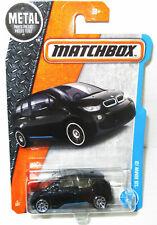 MATCHBOX METAL BMW I3 GLITTERY BLACK VEHICLE 1:64 SCALE