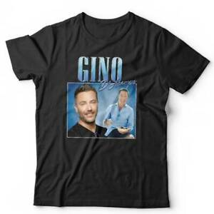 Gino D'Acampo Appreciation Tshirt Unisex - TV, Chef, Family Fortunes, Funny