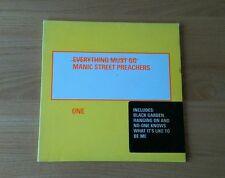 RARE Manic Street Preachers Everything Must Go 1996 UK CD Promo Sticker Alt Rock