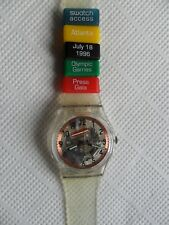 swatch special Olympic Atlanta Press Gala SKK 100C,NUOVO !!!