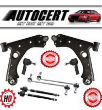 VAUXHALL CORSA D 06-14 FRONT CONTROL ARMS WISHBONES L/R LINK BARS TRACK & INNERS