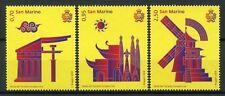 San Marino 2018 MNH Europe China Tourism Year 3v Set Architecture Stamps