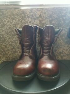 Red Wing 608 Comfort Sole  Boots Size 10.5 Made in USA good condition