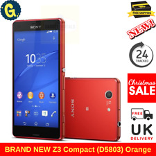 Sony Xperia Z3 Compact Z3 Compact D5803 - 16GB - Orange (Unlocked) Smartphone UK