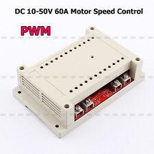 DC Motor Speed Control 10-50V 60A PWM HHO RC Controller 12V 24V 48V 3000W MAX