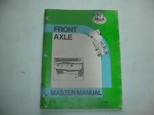 Mack Truck Front Axle Master Manual Factory Repair Shop Service 12-100.1   CHEAP