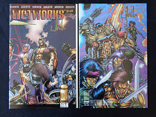 Wetworks 1 Golden Apple 2 Variant Signed Whilce Portacio VF+/NM+ Condition