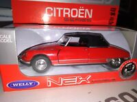 DS 19 CABRIOLET CITROEN WELLY 1/43
