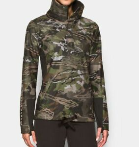 UNDER ARMOUR Womens Early Season Ridge Reaper Hunting Pullover Jacket Large $109